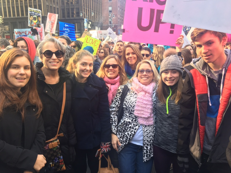 2017 Womens March fam and Friends.JPG
