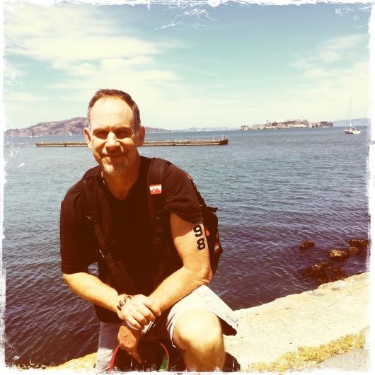 Alcatraz Dad Waterfront vintage