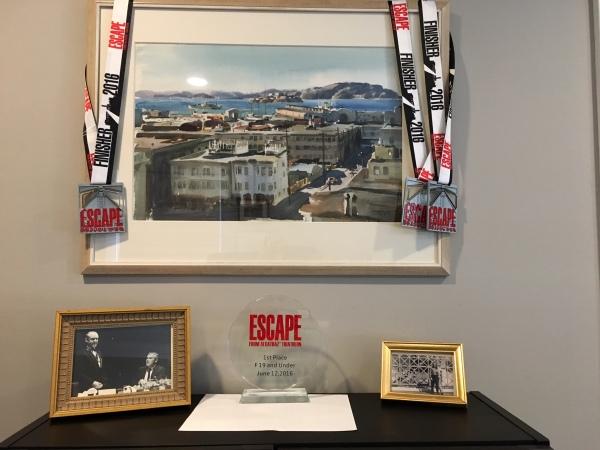Alcatraz Framed