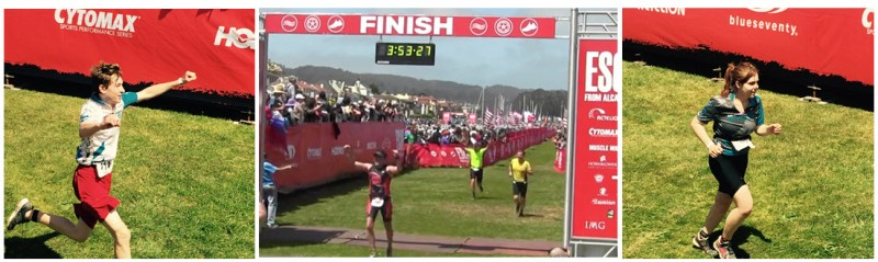 Alcatraz trio finish